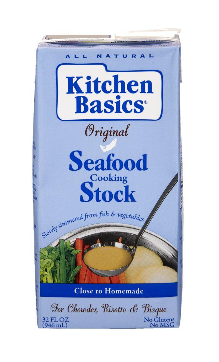 Kitchen Basics Seafood Cooking Stock at East Village Organic - Mercato