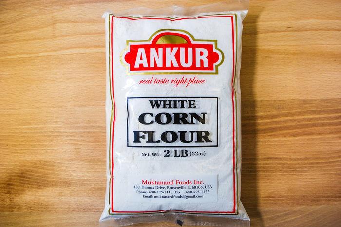 Buy White Corn Flour, 2 LB, Ankur Brand Online | Mercato