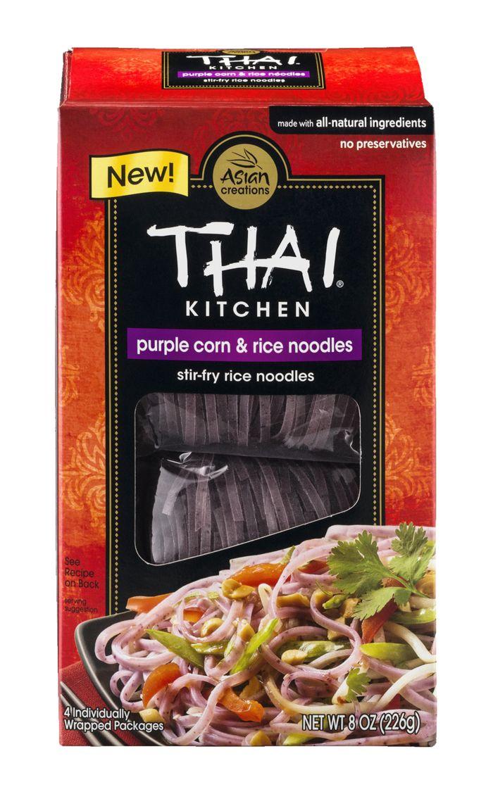 Thai Kitchen Noodles Thai Kitchen Purple Corn & Rice Noodles At The Health Nuts  Mercato