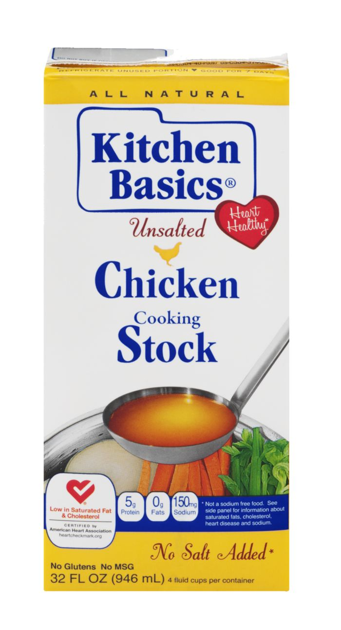 Kitchen Basics Chicken Cooking Stock Unsalted at Hyde Park Produce ...