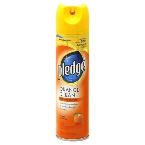 Buy Pledge Furniture Spray Orange Clean 9 Online