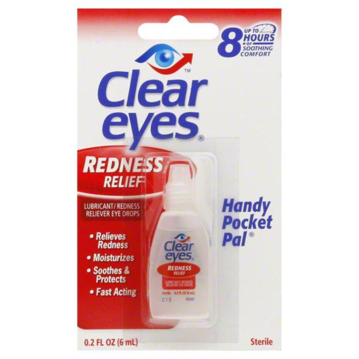 Buy Clear Eyes Eye Drops, Lubricant, Redness... Online