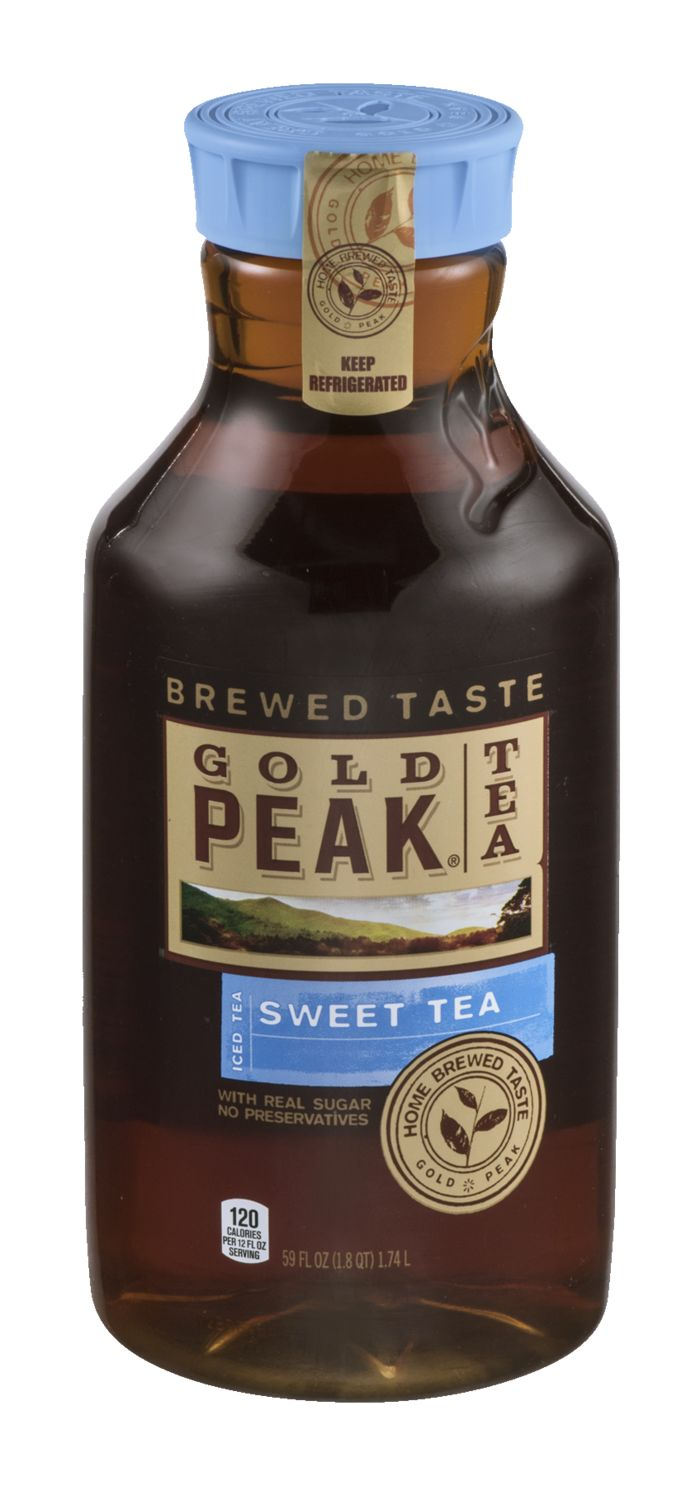 Buy Gold Peak® Sweet Tea online to have it ready for pickup at your local Sam's Club. With real sugar and home-brewed taste, this sweet iced tea is the perfect drink for every occasion from summer party gatherings to quiet, relaxing moments.