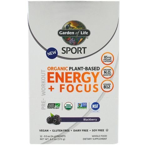 Buy garden of life sport organic plant based online mercato for Garden of life energy and focus