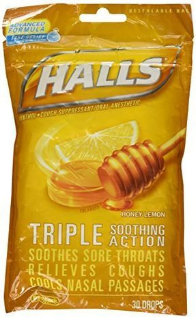buy halls triple soothing action cough drops online mercato. Black Bedroom Furniture Sets. Home Design Ideas